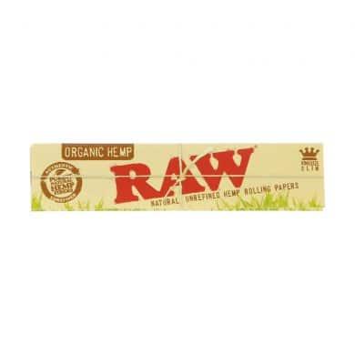 💨 Raw biologische hennep King Size Slim vloei Smartific 716165174226