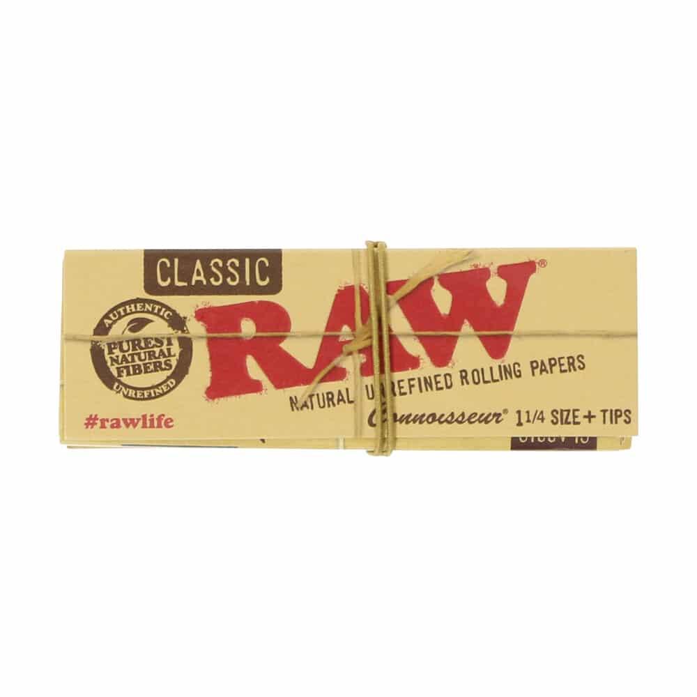 💨 Raw Classic Connoisseur 1¼ Vloei en Tips Smartific 716165176114