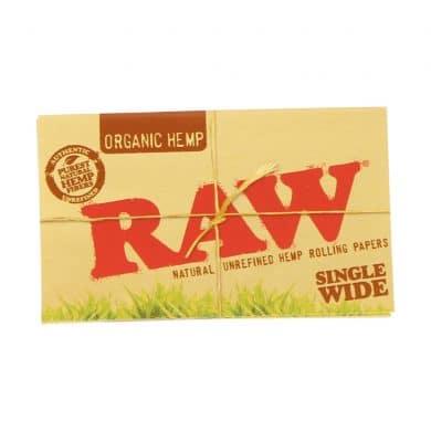 ? Raw biologische hennep Single Wide dubbele vloei Smartific 716165179184