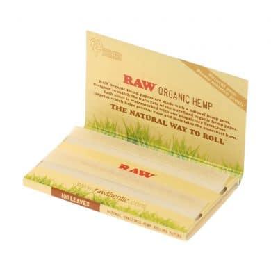 💨 Raw biologische hennep Single Wide dubbele vloei Smartific 716165179184