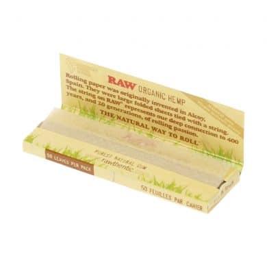 💨 Raw Organic Hennep Single Wide vloei Smartific 716165179207
