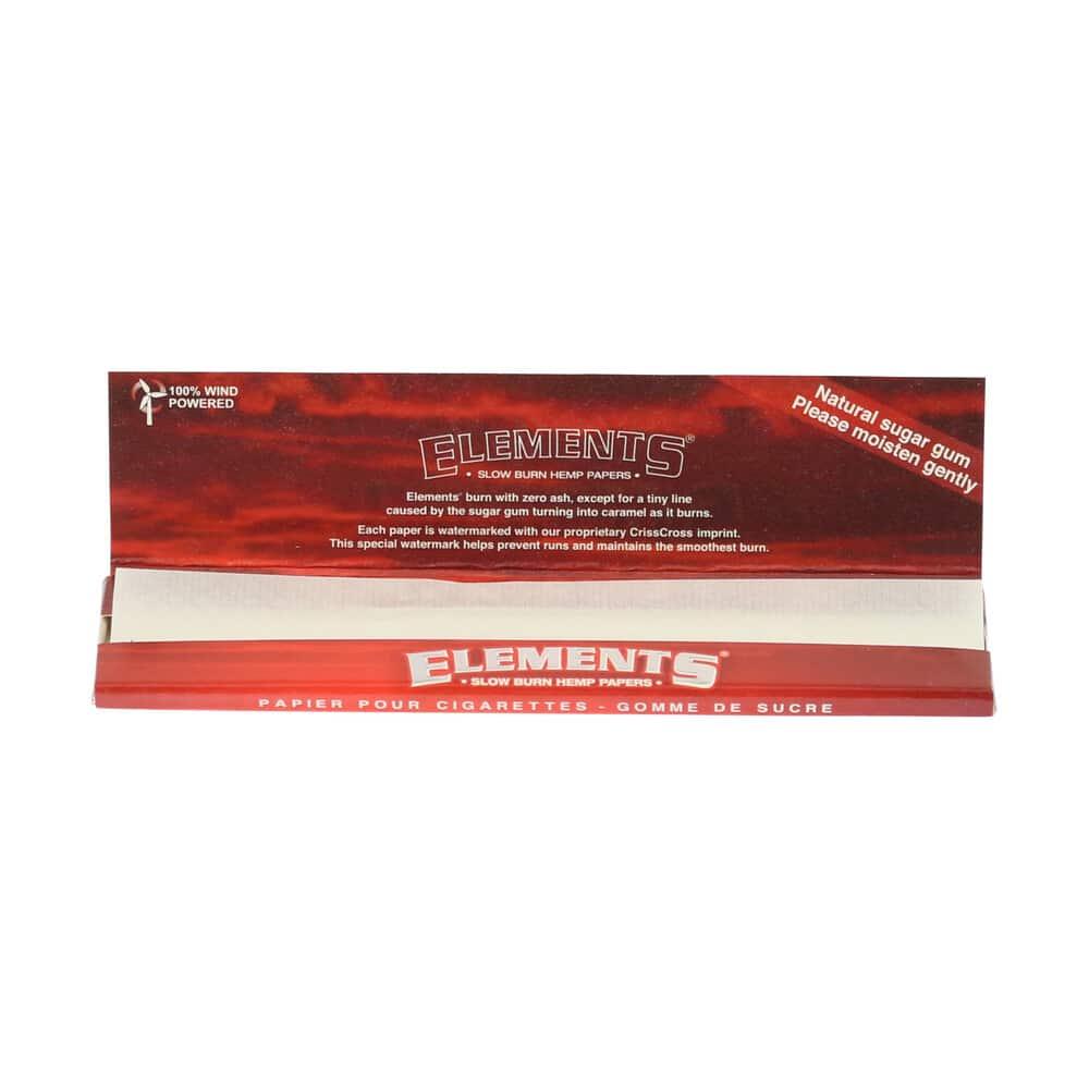 💨 Elements King Size hennep Lange Vloei Smartific 716165250906