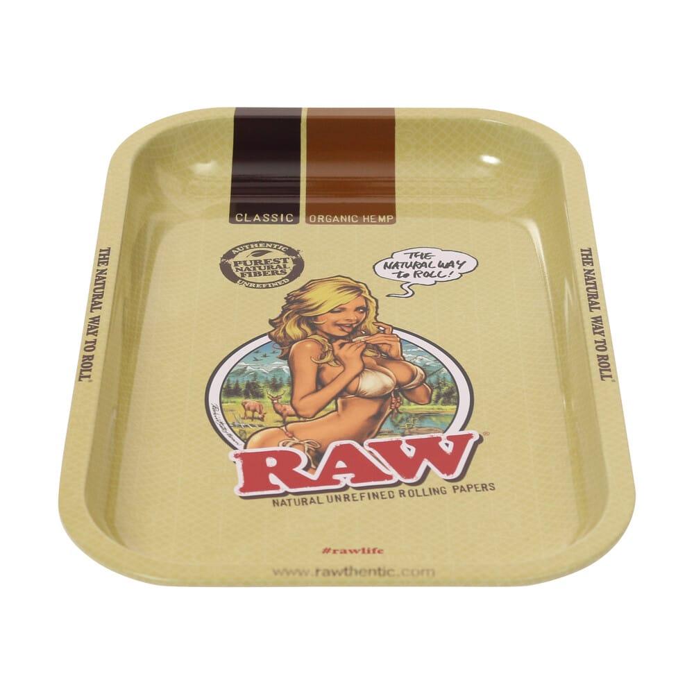 🧐 Raw Girl Klein metalen dienblad Smartific 716165282952