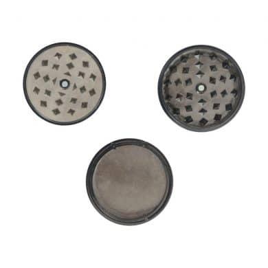 🧐 Acryl grinder 3 delig zwart Smartific 7442938512508