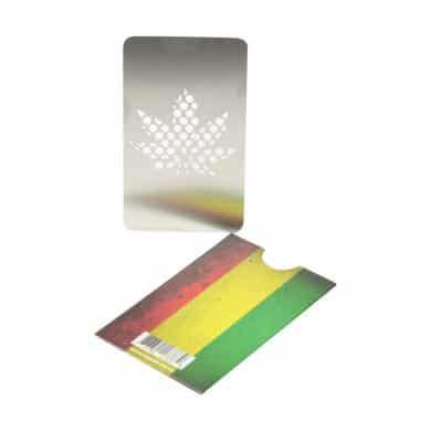 🧐 Rasta Leaf Creditcard Grinder Smartific 777791173779