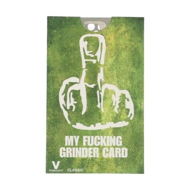 🧐 Middelvinger Credit Card Grinder Smartific 799804086524