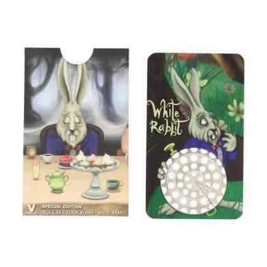 🧐 White Rabbit - Alice in Grinderland Credit Card Grinder Smartific 799804086616