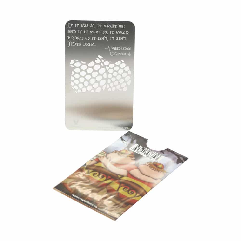 🧐 Tweedle Twins - Alice in Grinderland Credit Card Grinder Smartific 799804086623