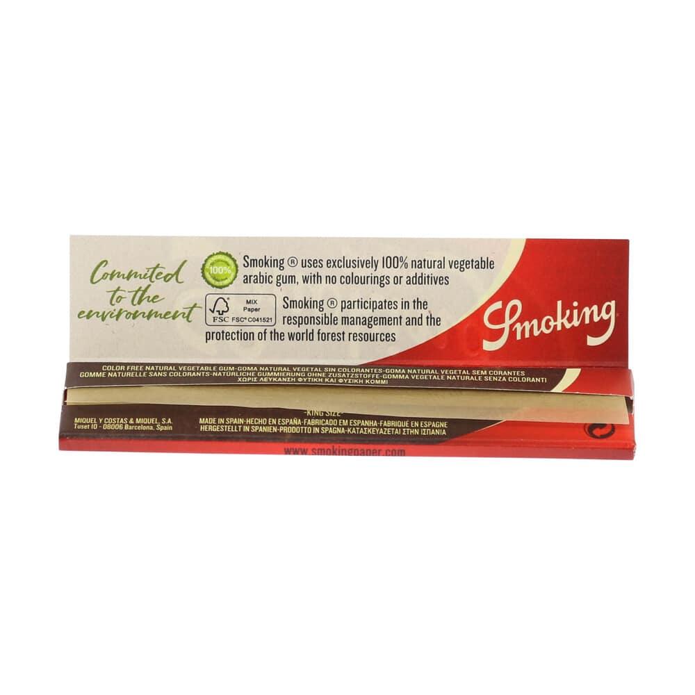 💨 Smoking Brown King Size Slim Lange Vloei Smartific 8414775013547