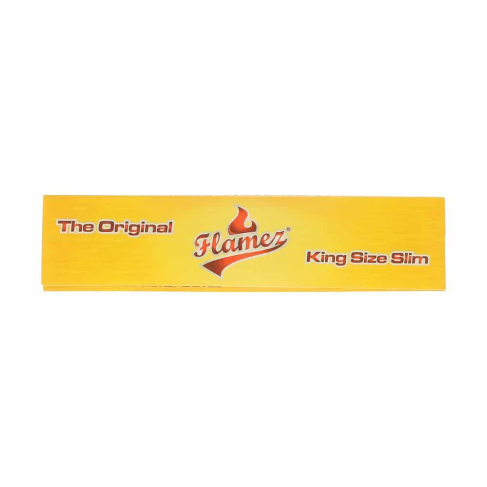 💨 Flamez Geel King Size Slim Lange Vloei Smartific 8595134500769