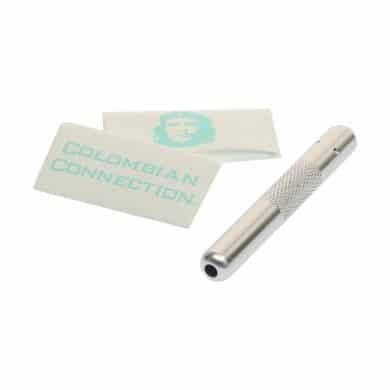 🧐 Aluminium Zilveren snuifbuis Smartific 8717624212550