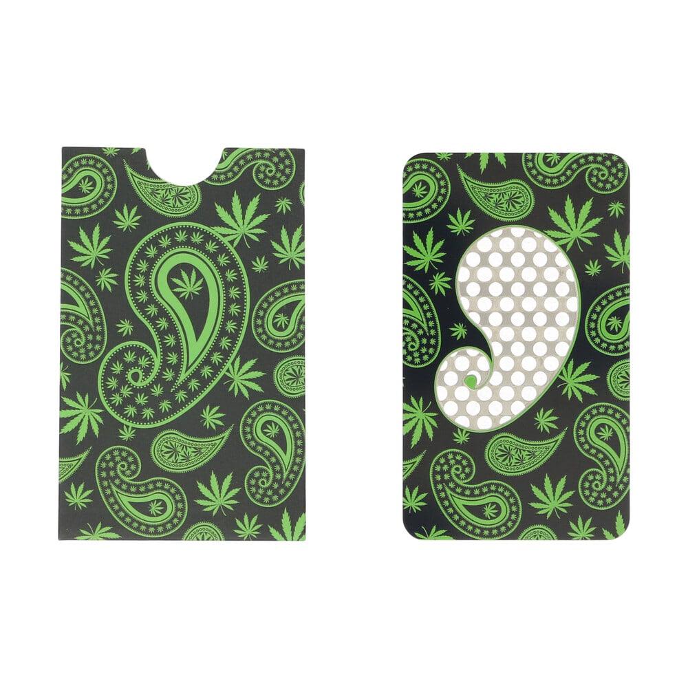 🧐 Paisley Weed Credit Card Grinder Smartific 8718274713183