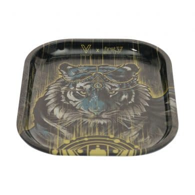 🧐 Tiger Small Metal Rolling Dienblad Smartific 8718274714623