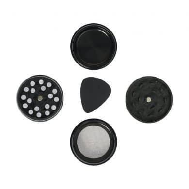 🧐 Kleine metalen grinder met 3 kamers Smartific 8718274718942