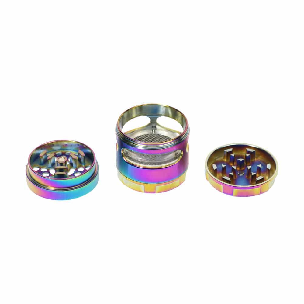 🧐 Basic aluminium grinder Smartific 9008122311838