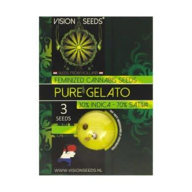 🌿 Vision Seeds Gefeminiseerd Wietzaadjes PURE GELATO Smartific 2014262/2014261