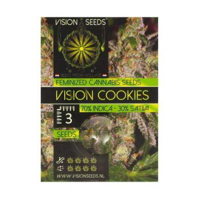 🌿 Vision Seeds Gefeminiseerd Wietzaadjes VISION COOKIES Smartific 2014274/2014273