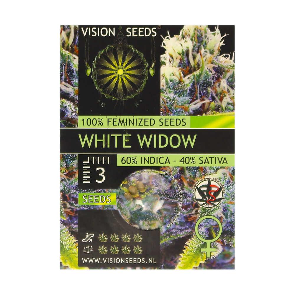🌿 Vision Seeds Gefeminiseerd Wietzaadjes WHITE WIDOW Smartific 2014282/2014281