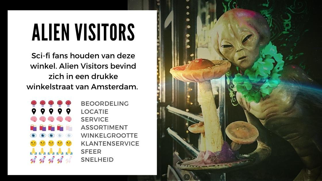 Alien Visitors Smartshop ansterdam review smartific online webshop