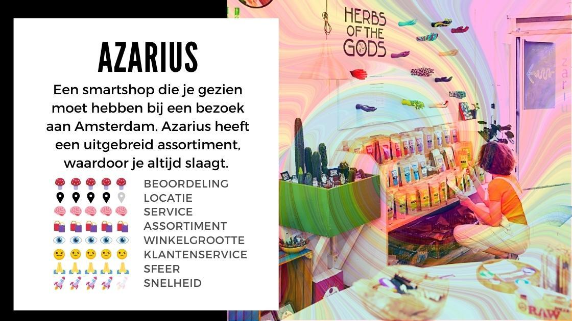 Azarius Smartshop ansterdam review smartific online webshop