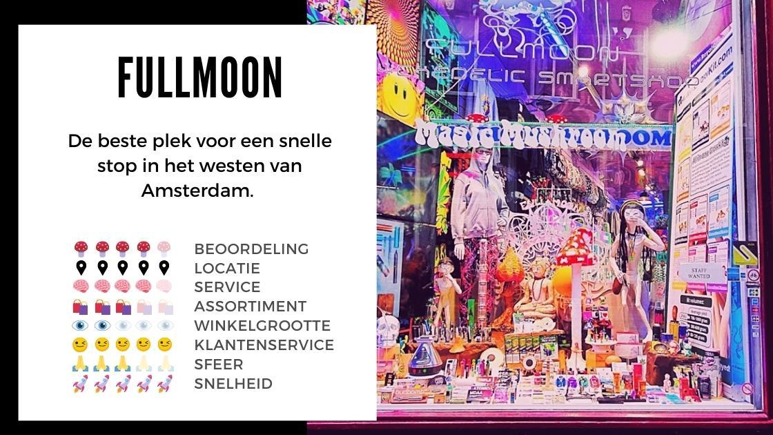 Fullmoon Smartshop ansterdam review smartific online webshop