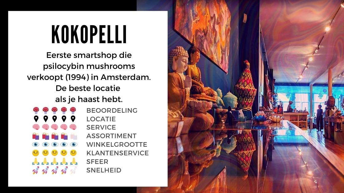 Kokopelli Smartshop ansterdam review smartific online webshop