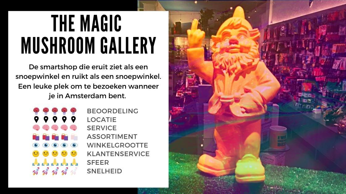 The Magic Mushroom Gallery Smartshop ansterdam review smartific online webshop