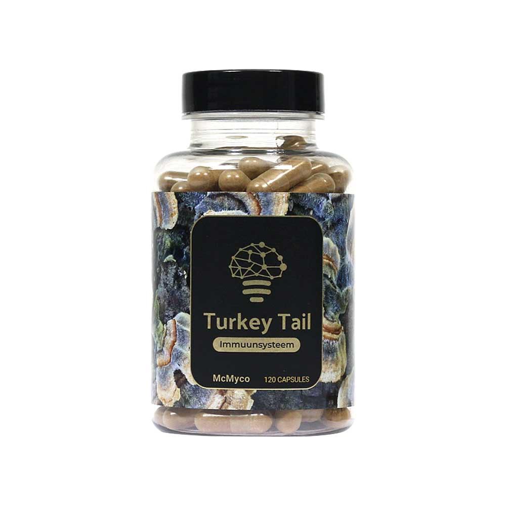 Turkey Tail geneeskrachtige paddenstoelen supplementen kopen Smartific 8718274718300