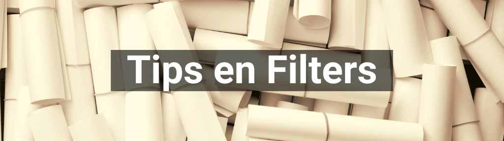TIps en filters kopen