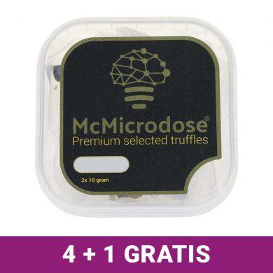 McMicrodose Truffels voor microdosing 4+1 gratis