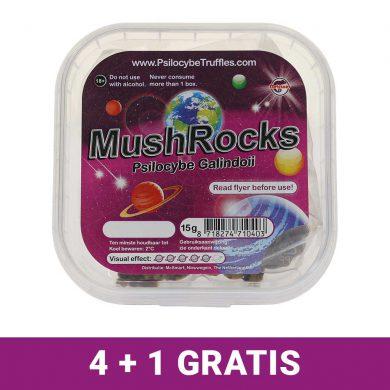 MushRocks Magic Truffels 4+1 gratis